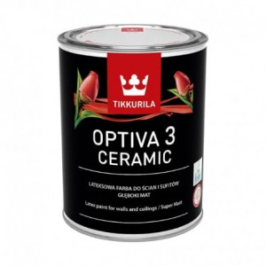 Tikkurila Optiva Ceramic Super Matt (3) Baza A 0,9L
